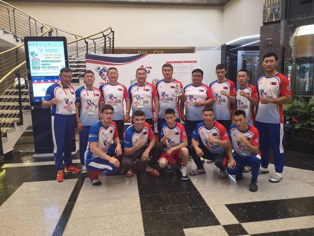 Боксын ДАШТ-д оролцох Монголын баг бүрэлдэхүүн