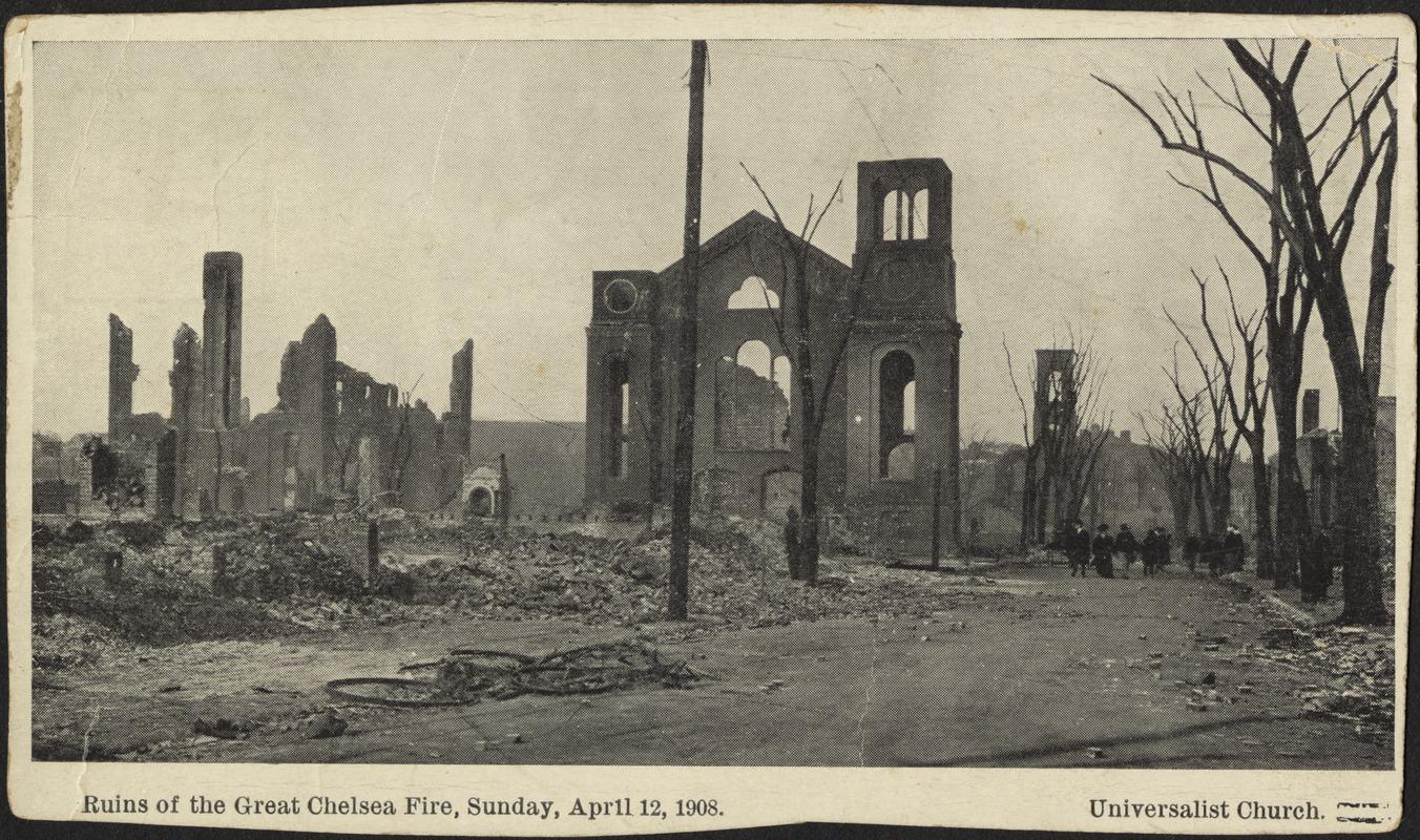 Чарлез Леонардын Юниверсалист сүм 1908 онд шатжээ
